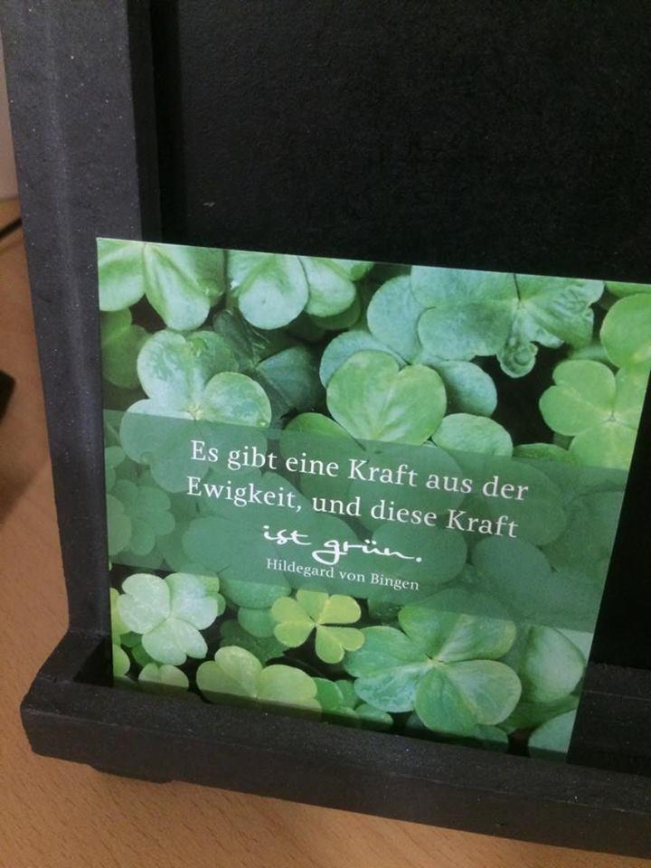 Grön kraft hotel Hildegard forum